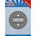 Yvonne Creations Die Big Guys - Cheers YCD10176