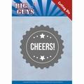 Yvonne Creations Die Big Guys - Cheers YCD10176