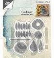 Joy Crafts Snijmal Zonnebloem 6002/1222