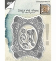 Joy Crafts Snijmal Sketch Art Frame 6002/1292