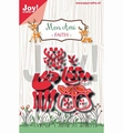 Joy Crafts Snijmal Mon Ami Hertje Faith 6002/1316
