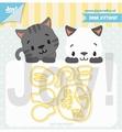 Joy Crafts Snijmal Lieve Kittycat 6002/1321