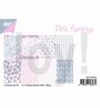 Joy! Crafts Papierset Pink Flamingo 6011/0624