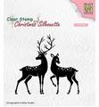 Nellie Snellen Silhouette Clear Stamp Deer CSIL006