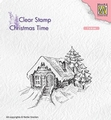 Nellie Snellen Clear Stamp Cosily Snowy Cottage CT030