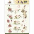 Precious Marieke knipvel Blooming Summer - Flowers CD11311
