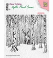Nellie Snellen Clear Stamp Deer in Forest IFS017