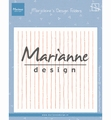 Marianne Design Folder Marjoleine's Stripes DF3456