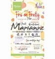 Marianne Design clear stamp Marleens Fris & Fruitig CS1030