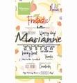 Marianne Design clear stamp Marleens Fruitastic CS1031