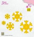 Nellie Snellen Shape Die Snowflakes SD168