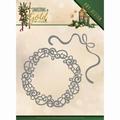 Amy Design Snijmal In Gold - Wreath ADD10181