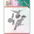 Yvonne Creations Die Happy Tropics - Exotic Birds YCD10175