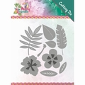 Yvonne Creations Die Happy Tropics - Tropical Bloom YCD10174