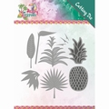 Yvonne Creations Die Happy Tropics - Lush Leaves YCD10173