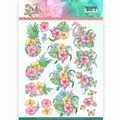 Yvonne Creations knipvel Tropical Flowers CD11331
