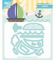 Joy Crafts Snijmal Jocelijne Zeilboot 6002/1414