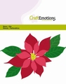 Craft Emotions Snijmal Poinsettia 115633/0432