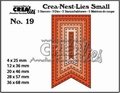 Crea-Nest-Lies Small Fishtail Banner Stitch CNLS19