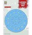 Nellie Snellen Layered Combi Die Round Star C LCDRS003