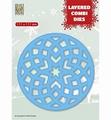 Nellie Snellen Layered Combi Die Round Star B LCDRS002