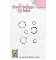 Nellie Snellen Mini Clear Stamp Bubbles MAFS012