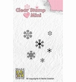 Nellie Snellen Mini Clear Stamp Snowflakes MAFS011