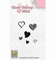 Nellie Snellen Mini Clear Stamp Hearts MAFS010