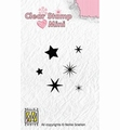 Nellie Snellen Mini Clear Stamp Stars MAFS009