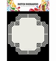 Dutch Doobadoo Dutch Shape Art Cross 470.713.179