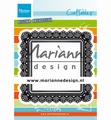 Marianne Design Craftables Punch Die Shaker Square CR1475