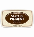 Stazon Pigment Ink Chocolate Brown SZ-PIG-041