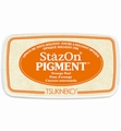 Stazon Pigment Ink Orange Peel SZ-PIG-071