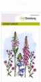 Craft Emotions Clear Stamp Wild Flowers 130501/1303