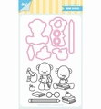 Joy! Crafts Clear Stamp+Snijmal Jocelijne Beer 6004/0041