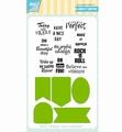 Joy! Crafts Clear Stamp+Snijmal Jocelijne Labels 6004/0037
