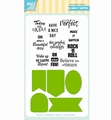 Joy! Crafts Clear Stamp+Snijmal Jocelijne Labels 6004/0037
