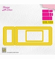 Nellie Snellen Shape Die Ticket & Tags - Ticket 3   SD172