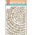 Marianne Design Mask Stencil Tiny's Sliced Wood PS8040