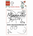 Marianne Design clear stamp Hetty's Gnomes Autumn HT1647