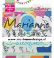 Marianne Design Creatables Congrats & Balloon LR0626