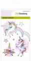 Craft Emotions Clear Stamp Unicorn 130501/1306