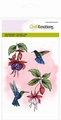 Craft Emotions Clear Stamp Fuchsia Hummingbird 130501/1308