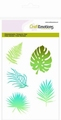Craft Emotions Clear Stamp Tropical Leaves 130501/1309