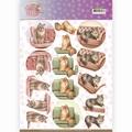 Amy Design knipvel Cat's World - Show Cats CD11370