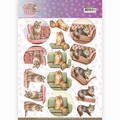 Amy Design knipvel Cat's World - Show Cats CD11370