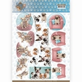 Amy Design knipvel Dog's Life - All kind of Dogs CD11366