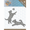 Amy Design Snijmal Dogs - Playing Dogs ADD10190