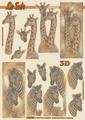Le Suh Knipvel Giraf/Zebra 4169755 per vel