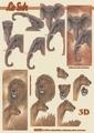 Le Suh Knipvel Olifant/Leeuw 4169756 per vel